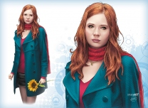 DOCTOR WHO:  Amy Pond...